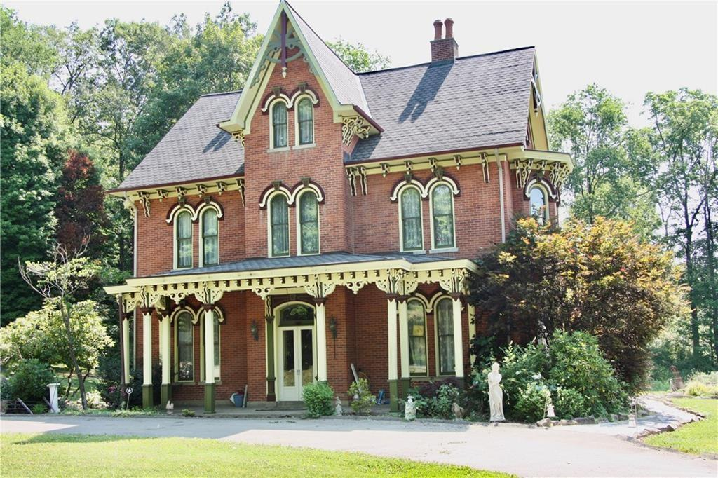 Grand Victorian House Near Pittsburgh PA