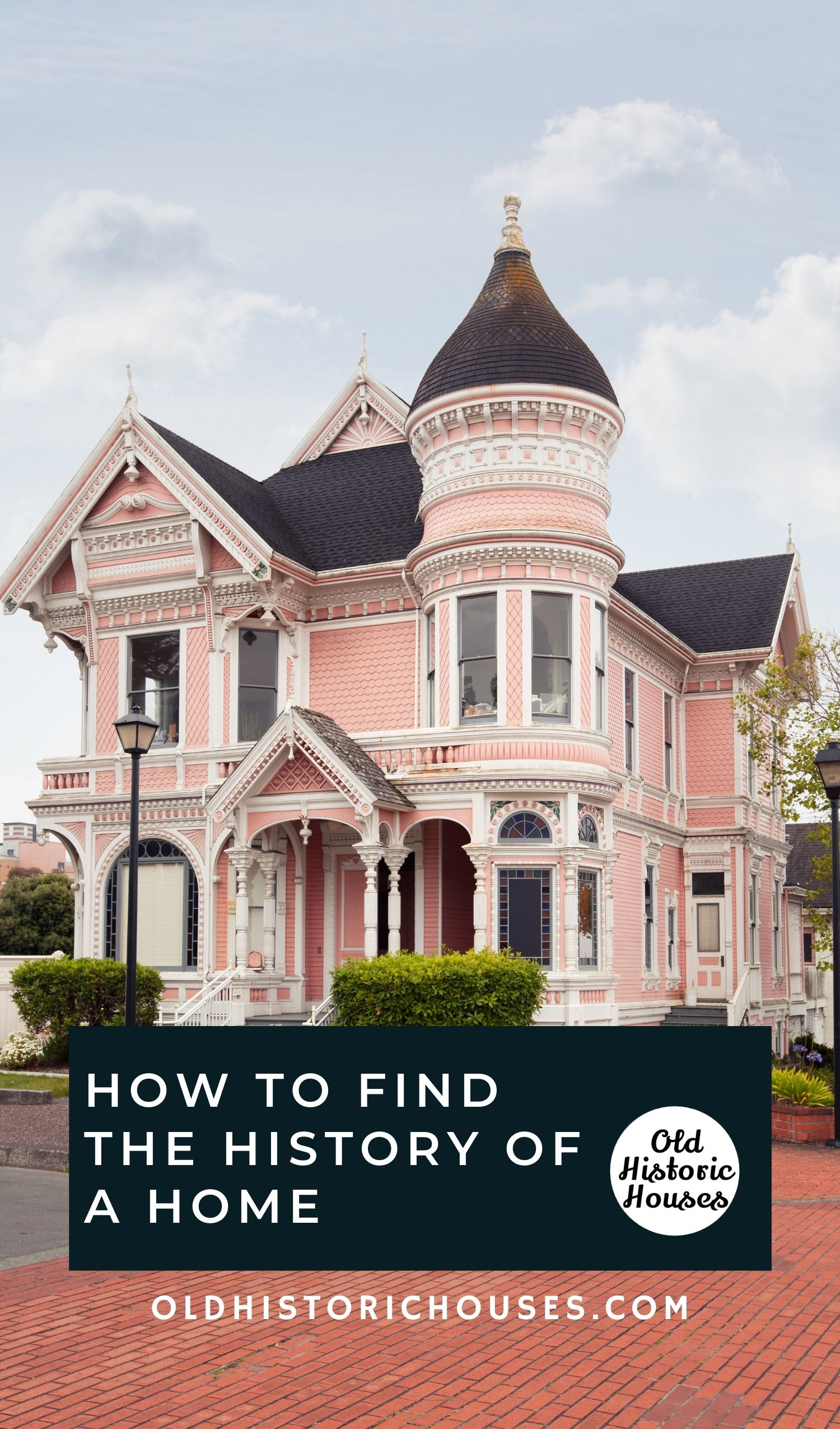 how to find the history of a home