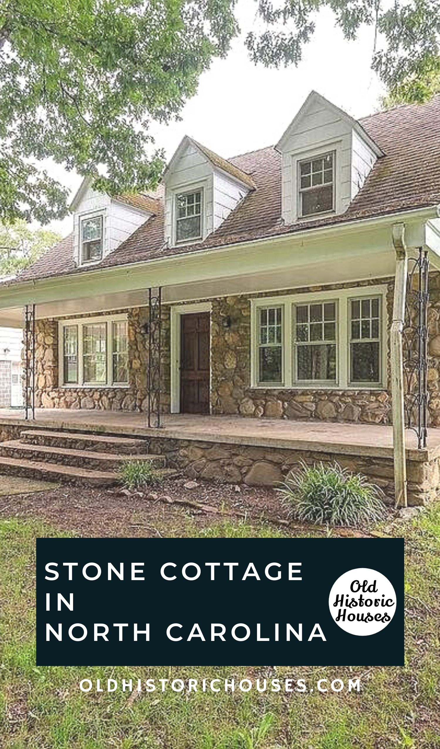 stone cottage for sale north carolina